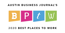 Logo of Austin Business Journal Best Place To Work